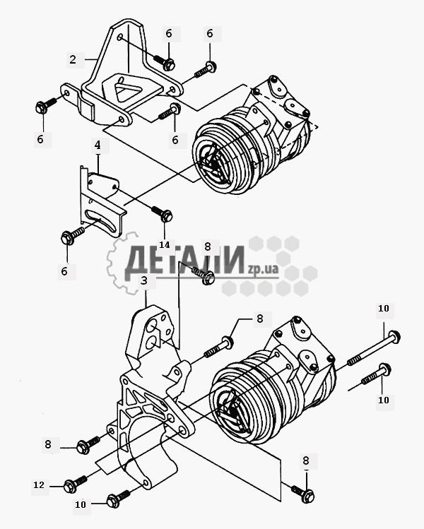 Трубопроводная система кондиционера (156) .