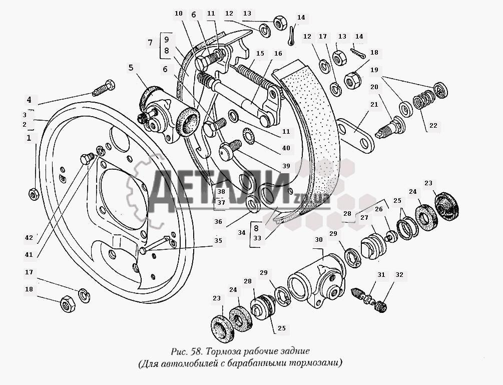 Двигатель для газ 31029