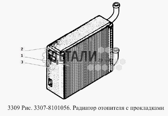Кожух радиатора с крышками вентилятора (183) .