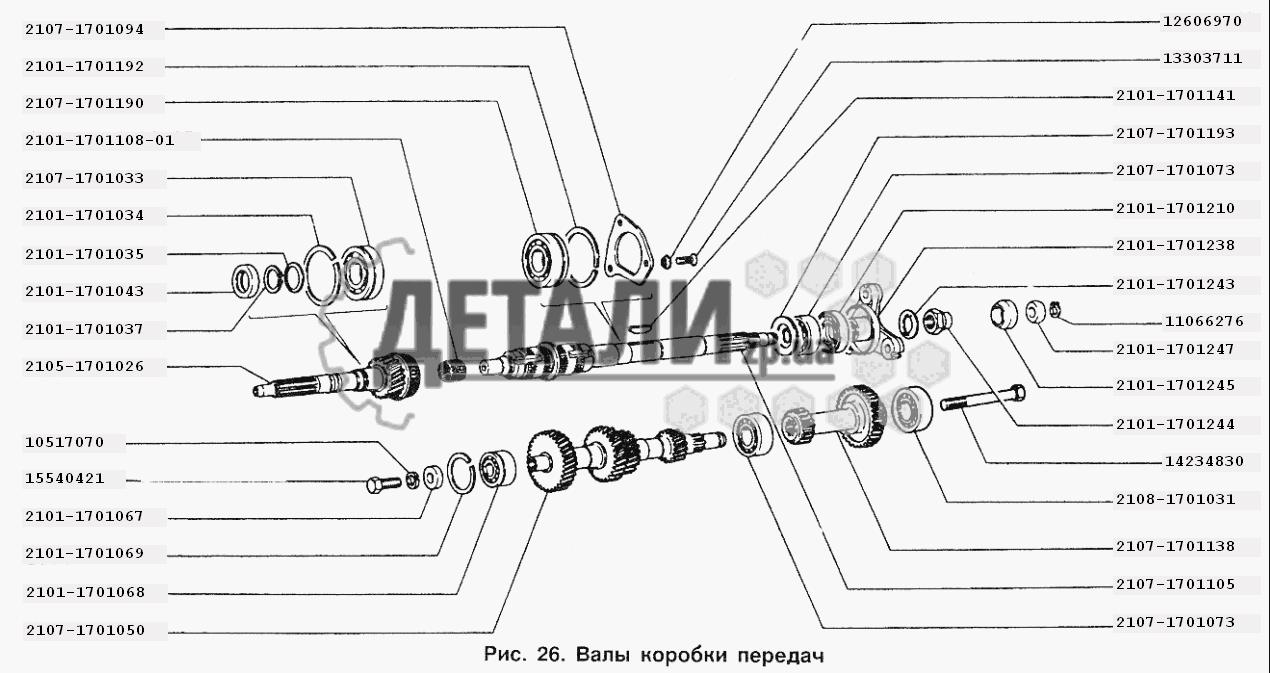Коробка передач ваз 2107 ремонт своими руками