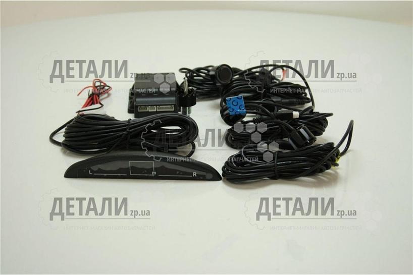 Парктроник TIGER (4 датчика, Аудио и Световое оповещение) TG-P4LED – купить на ДЕТАЛИ.zp.ua