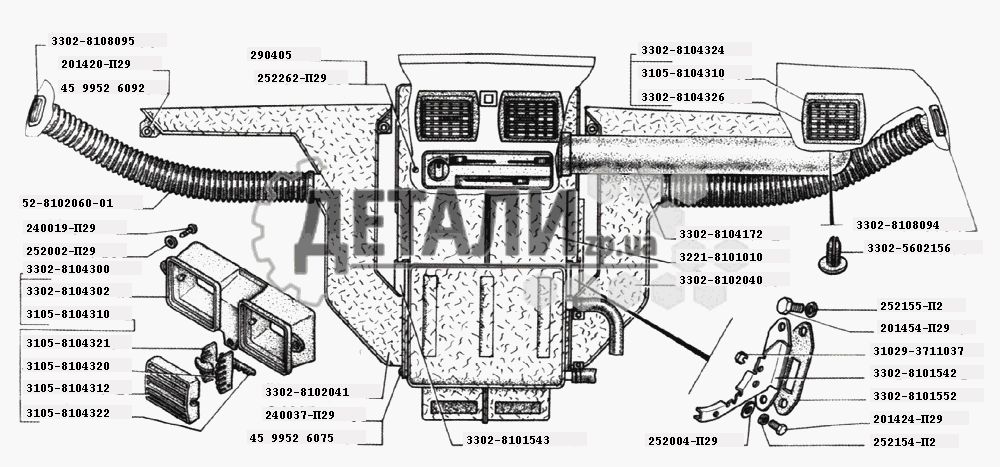отопления (для автомобилей