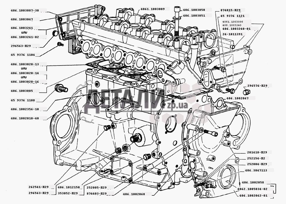 двигателей ЗМЗ-406 (2)