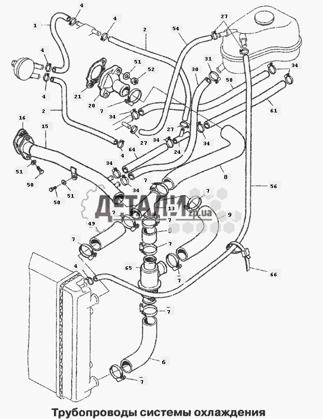 системы охлаждения (66)