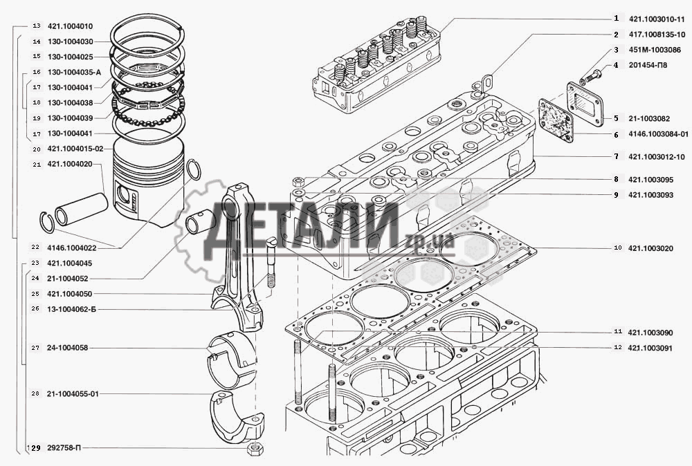 Фото №44 - схема протяжки головки блока цилиндров ВАЗ 2110 8 клапанов