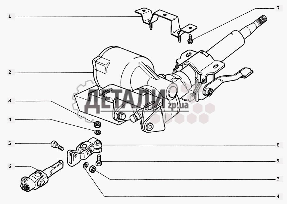 Вал рулевого управления (D130)