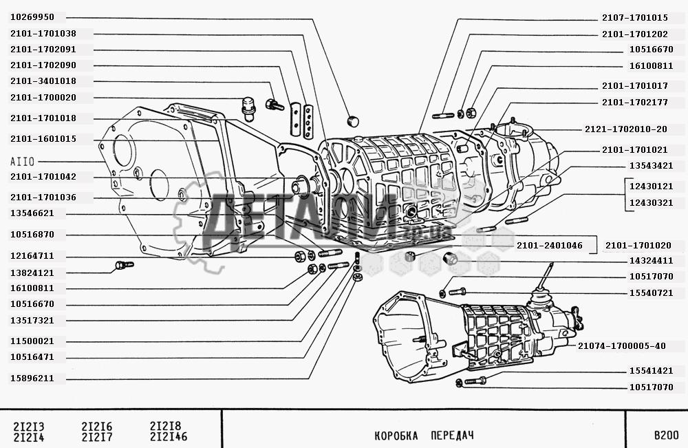 Коробка передач (73)